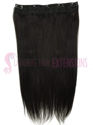 Clip In Hair Extensions 1 pce Straight - Colour #2 Choc Brown
