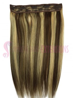 Clip In Hair Extensions Melbourne 1pce Straight - Colour #6/613