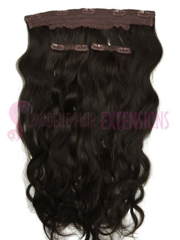 Clip In Hair Extensions 3pce Curly - Colour #2 Choc Brown