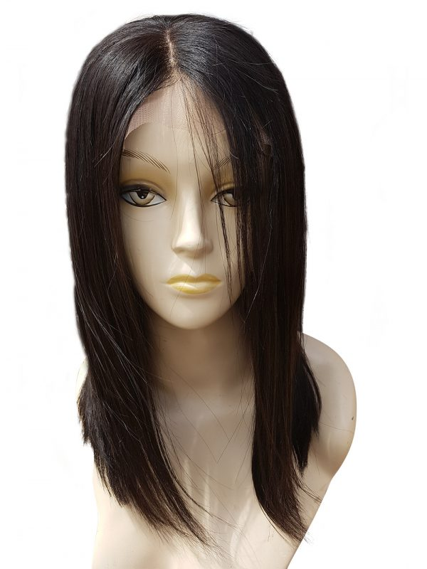 Lavadene Lace Front Human Hair Wig - Lavn1