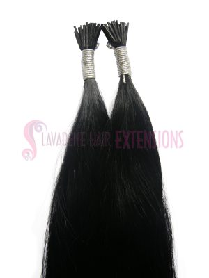 Micro Bead Hair Extensions 50strands - Colour Black #1