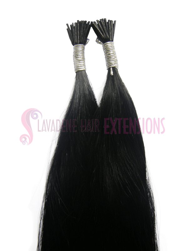 Micro Bead Hair Extensions Melbourne 50strands - Colour Black #1