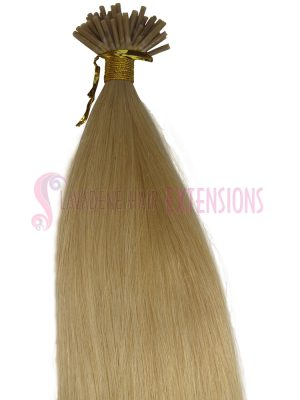 Micro Bead Hair Extensions Melbourne 50strands - Colour Dark & Light Blonde #22