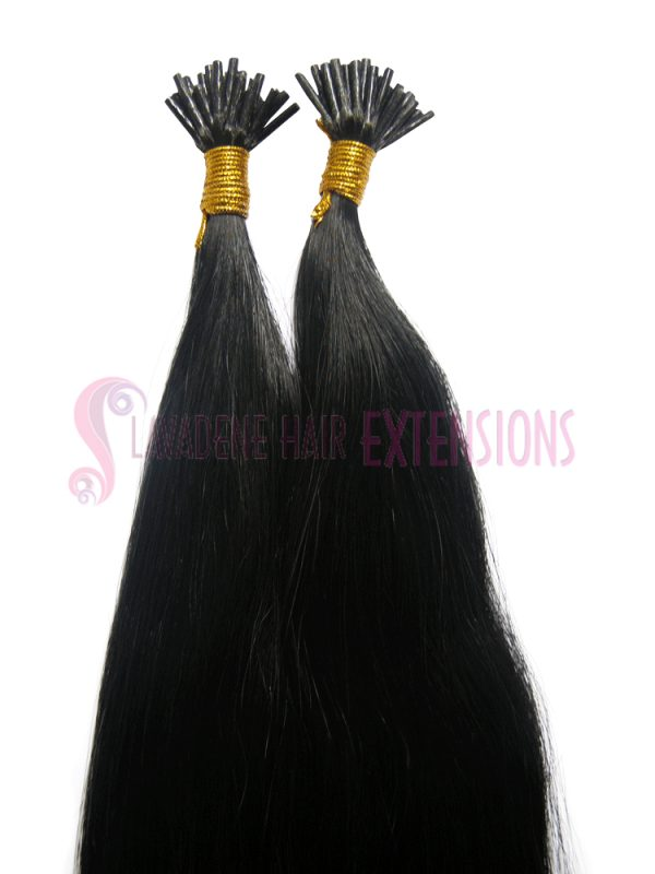 Micro Bead Hair Extensions Melbourne 50strands - Colour Darkest Brown #1B