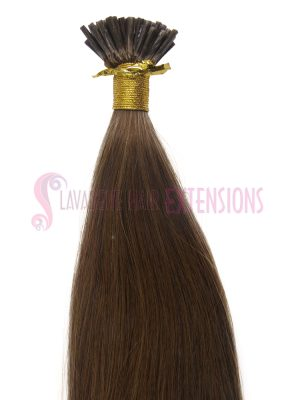 Micro Bead Hair Extensions 50strands - Colour Medium Brown #6