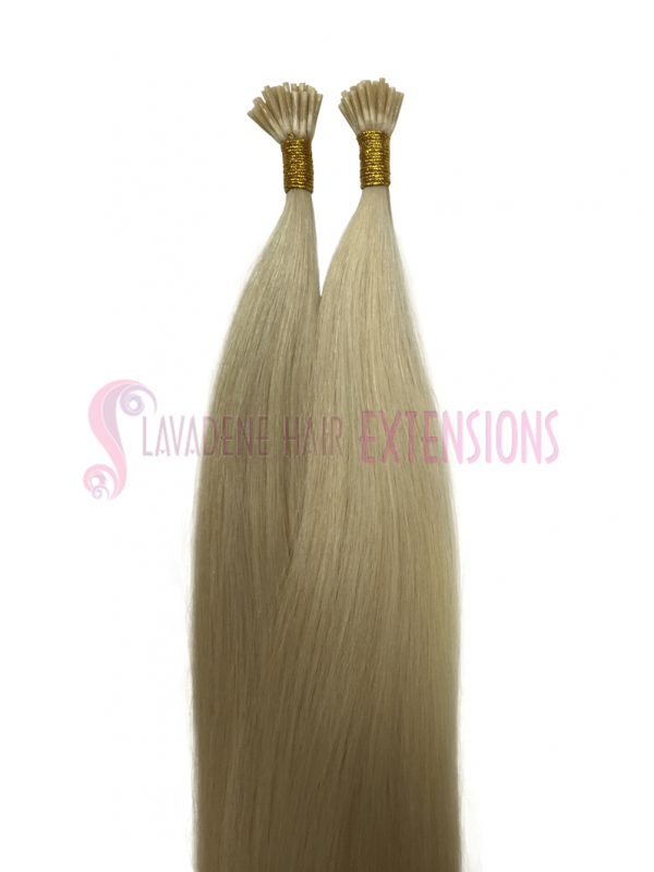 Micro Bead Hair Extensions 50strands - Colour Platinum Blonde #60