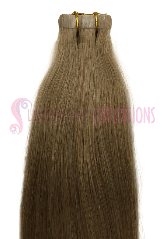 Tape Hair Extensions - Colour #18 Dark Blonde