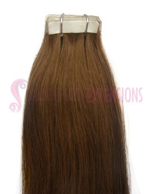 Tape Hair Extensions - Colour #6 Medium Brown