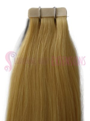 Tape Hair Extensions - Colour #60 Platinum Blonde