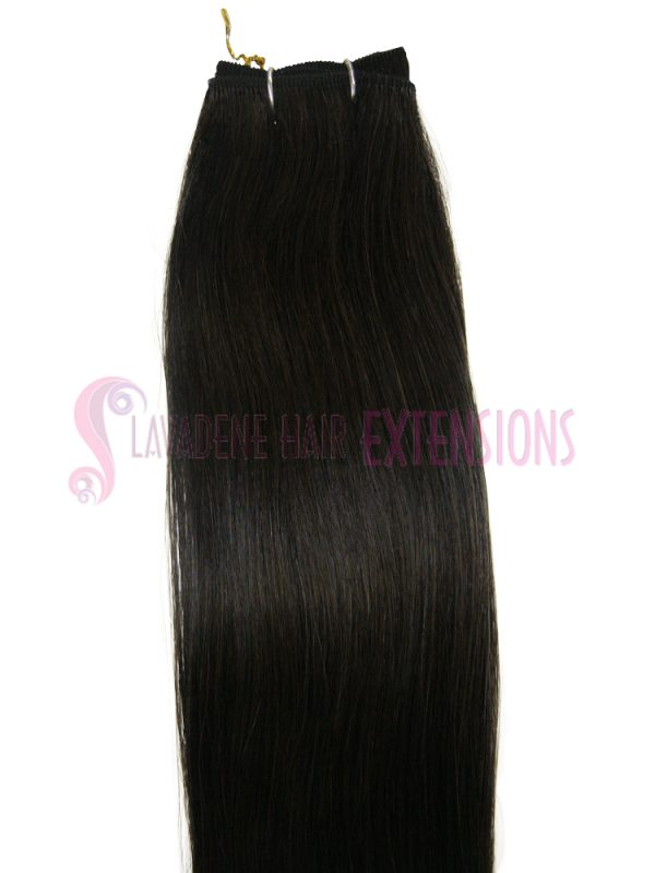 Weft Hair Extensions  - Colour Black #1