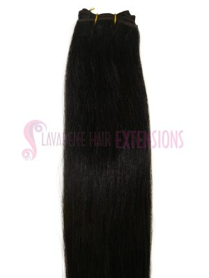 Weft Hair Extensions  - Colour Choc Brown  #2