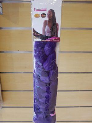 Hair Braiding Extensions colour Purple - Lavadene Hair Extensions